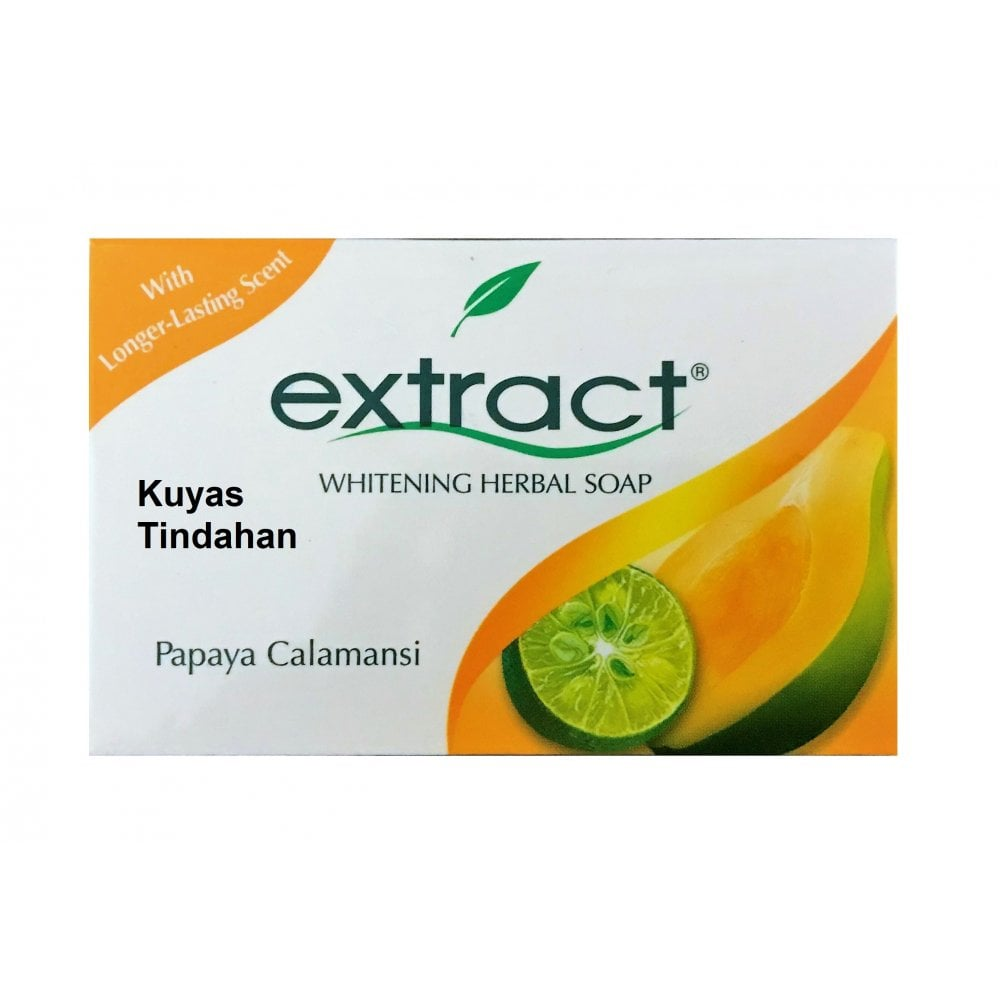 extract whitening herbal soap