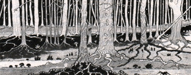 TolkienMirkwoodDrawing