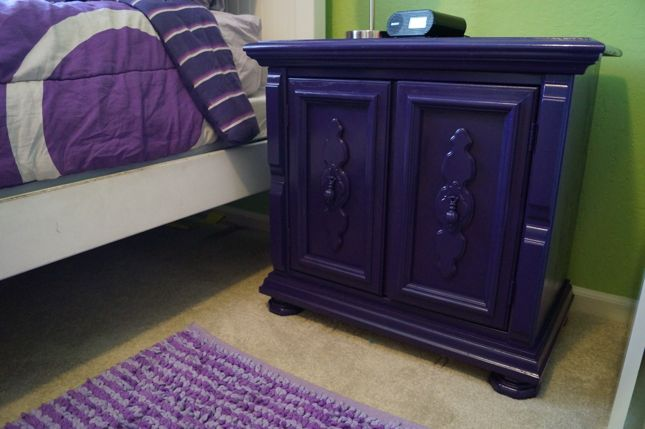 Kuzak's Closet Nightstand Transformation