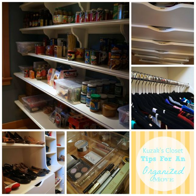 Kuzak's Closet Tips for an Organized Move