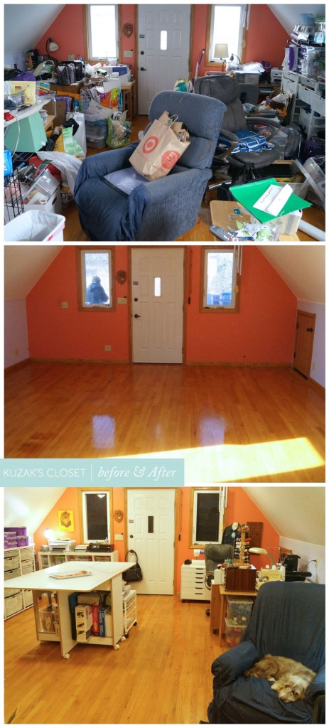 Kuzak's Closet Craft Transformation with Before and Afters