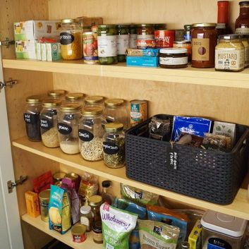 The Perfectly Organized Pantry