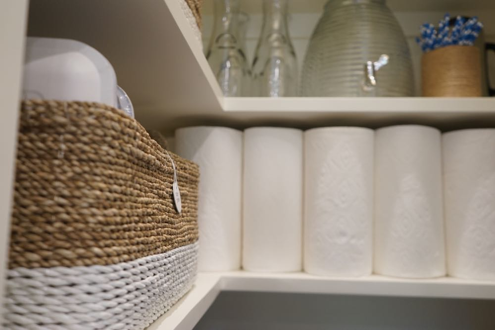Luxury Paper Product Pantry