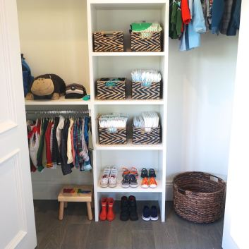 Organized Children's Closets: 4 Times The Inspiration!