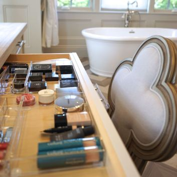 Perfectly Organized Master Bathroom