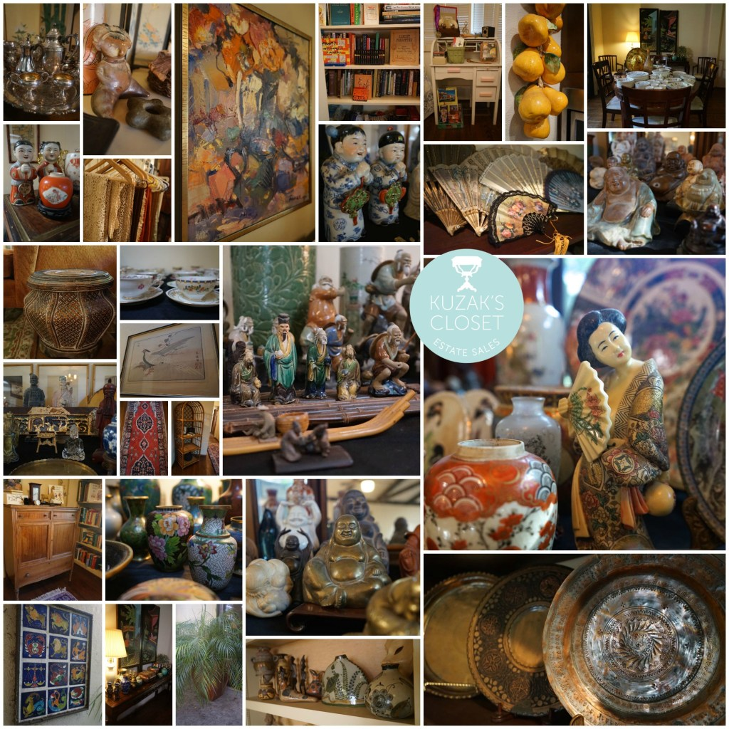 Kuzak's Closet Saratoga California Estate Sale