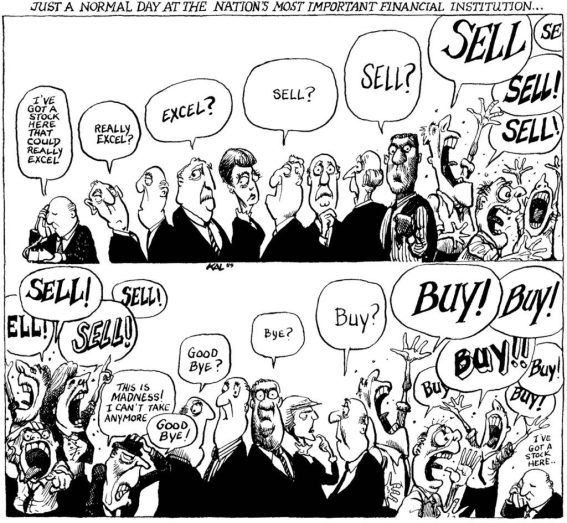 compra, compra, compra... vende, vende, vende!