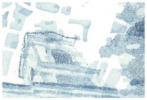 Aquatinta von Doris Dittrich (Detail)