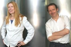 Evelyn Blumenau und Walter Kreuz gestalten das Live-Hörspiel zu Bertha von S. (Foto: zVg)