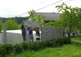 Betonový plot vám zajistí soukromí