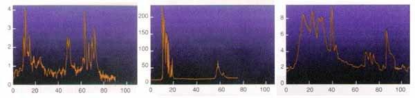 Svetlobne krivulje izbruhov gama