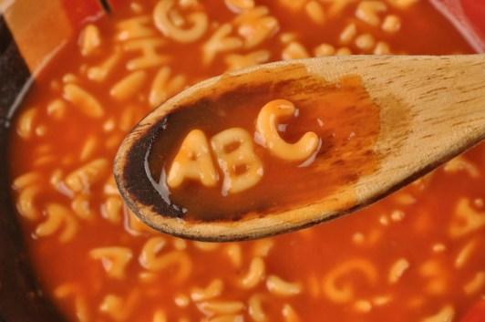 Image result for alphabet soup