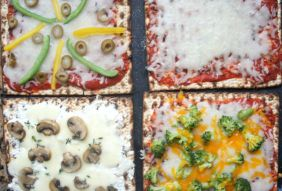 matzah pizza