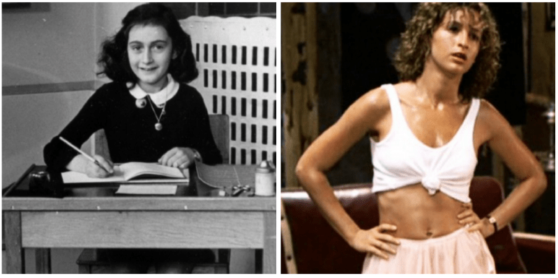 anne frank and dirty dancing