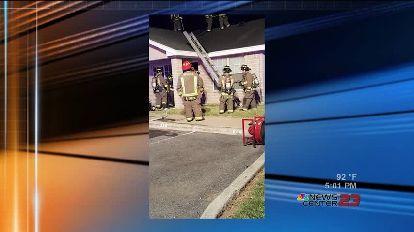 Structure Fire in Weslaco