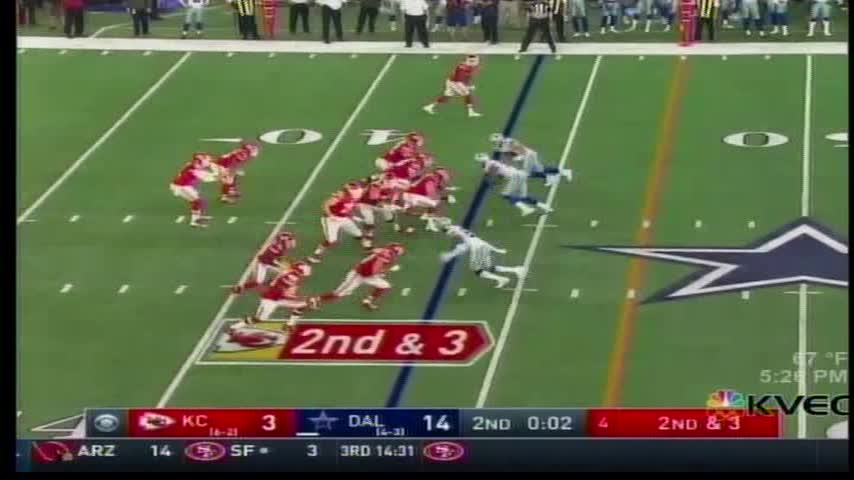 Ezekiel Elliott and the Cowboys Performance Against Chiefs