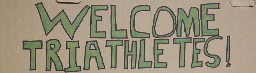 Welcome triathletes
