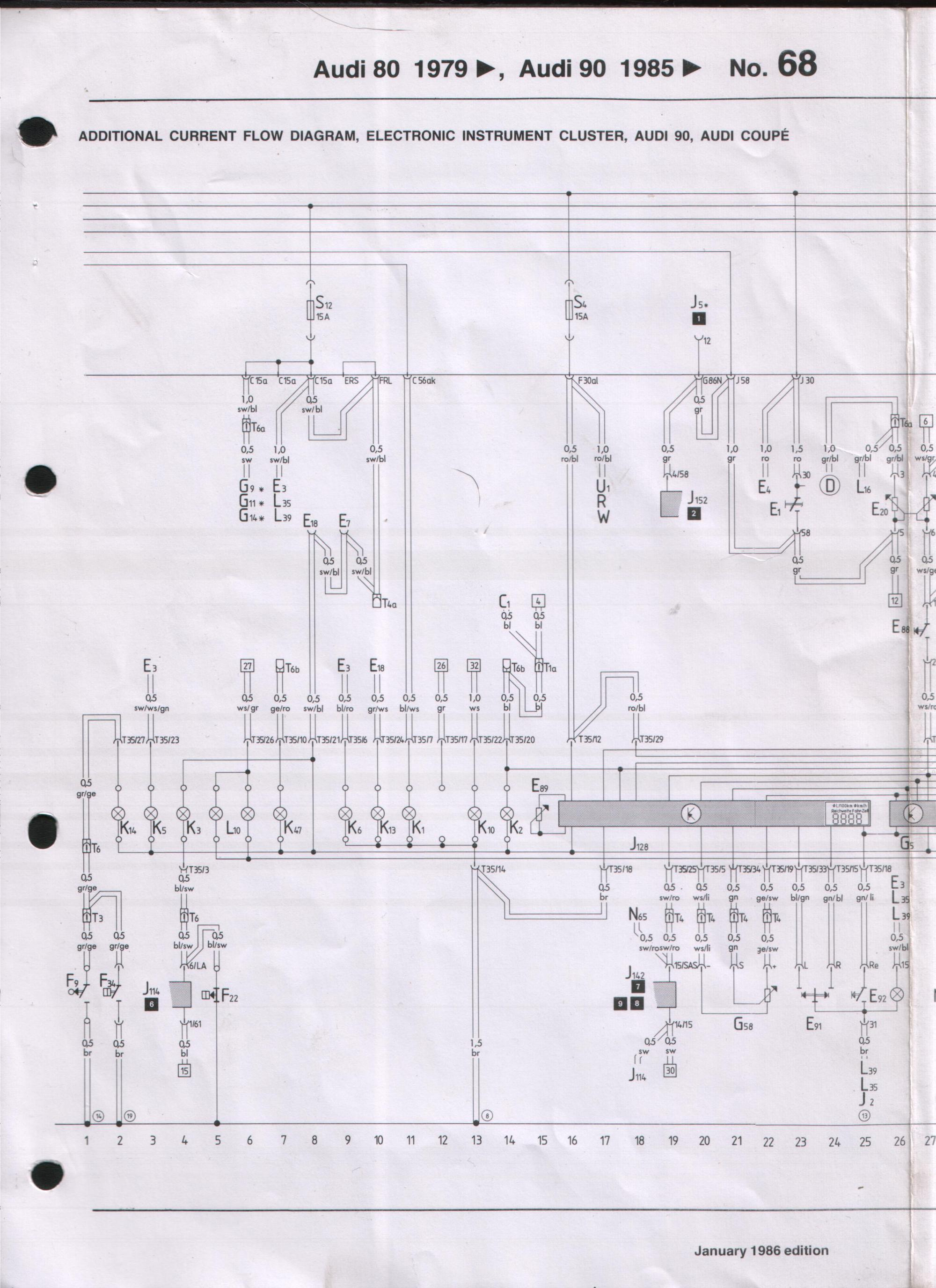 hight resolution of audi 90 fuse diagrams wiring diagram detailed 2001 audi s4 ecu fuse box audi 90 fuse