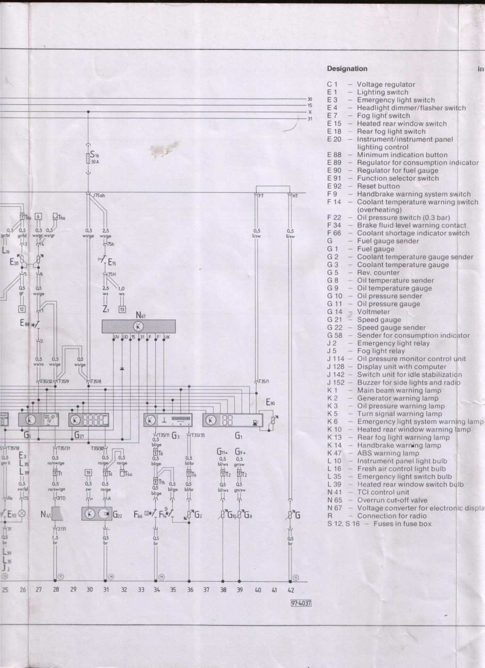 medium resolution of audi 4000 wiring diagram wiring library 1996 audi a6 fuse panel diagram audi 4000 wiring diagram