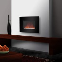 How To Install Electric Wall Mount Fireplace : KVRiver.com