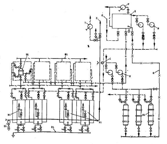 Industrial Steam Boiler Diagram, Industrial, Free Engine