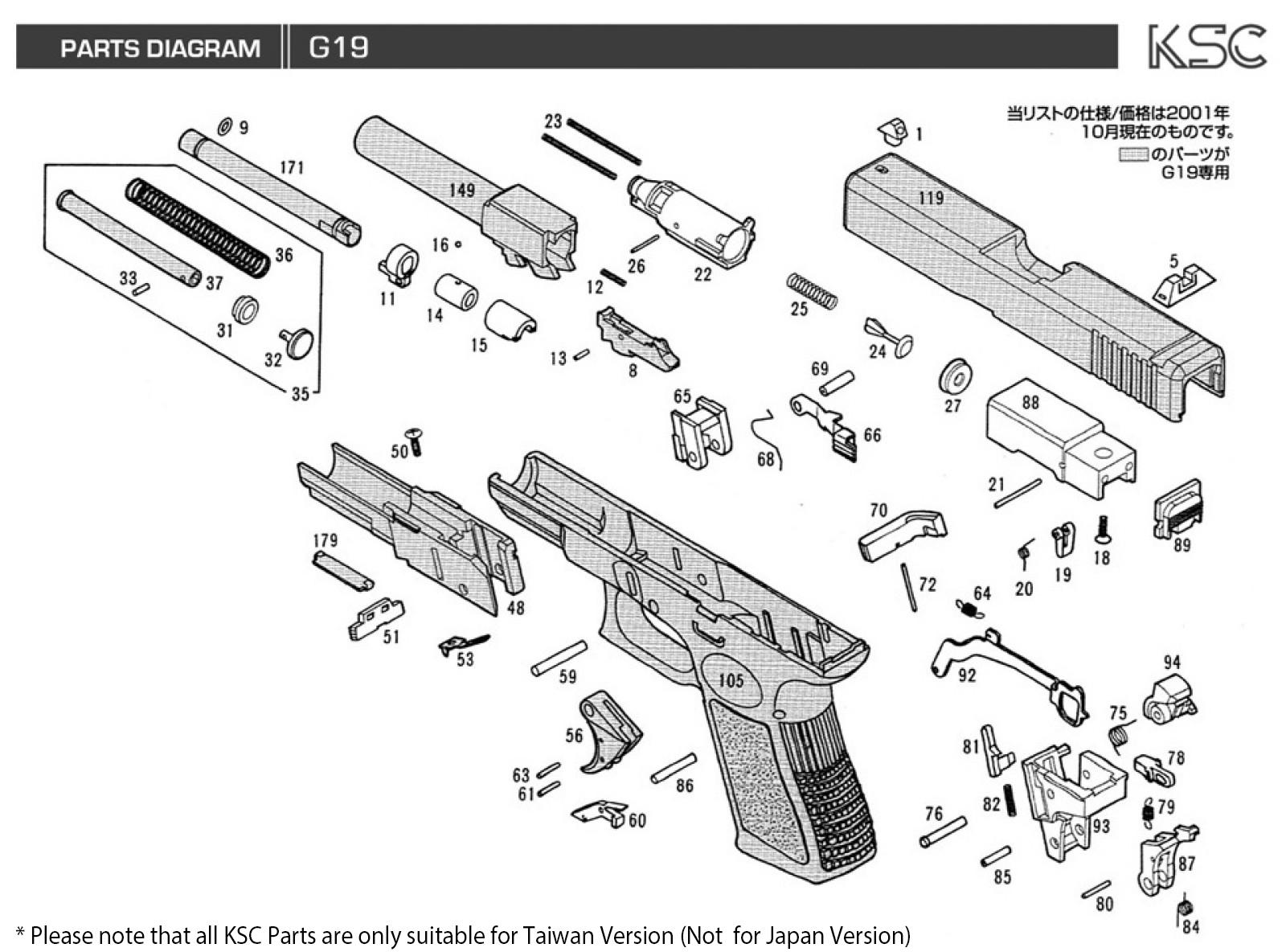Ksc G Series Atp Parts