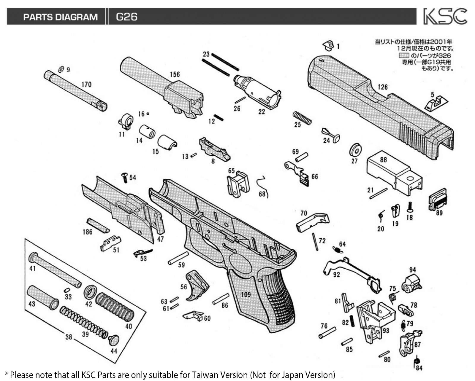 glock 23 disassembly diagram 1999 honda crv parts 17 gen 3 22 4 upgrades elsavadorla