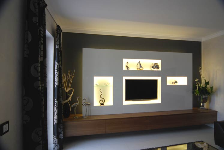Tv Wand Naturstein Free Tv Wand Selber Bauen Mit Tv Wand Mit Led Beleuchtung Selber Bauen