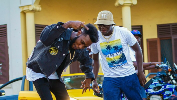 Phrimpong's video for 'Woa Wo Ly' featuring Ypee