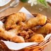 Platano frito estilo thai, Platano frito estilo, postre tailandés, cocina thailandesa, dulce tailandés