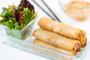 Rollitos de primavera, rollitos vietnamitas, cocina vietmanita, cocina asiática, cocina tailandesa