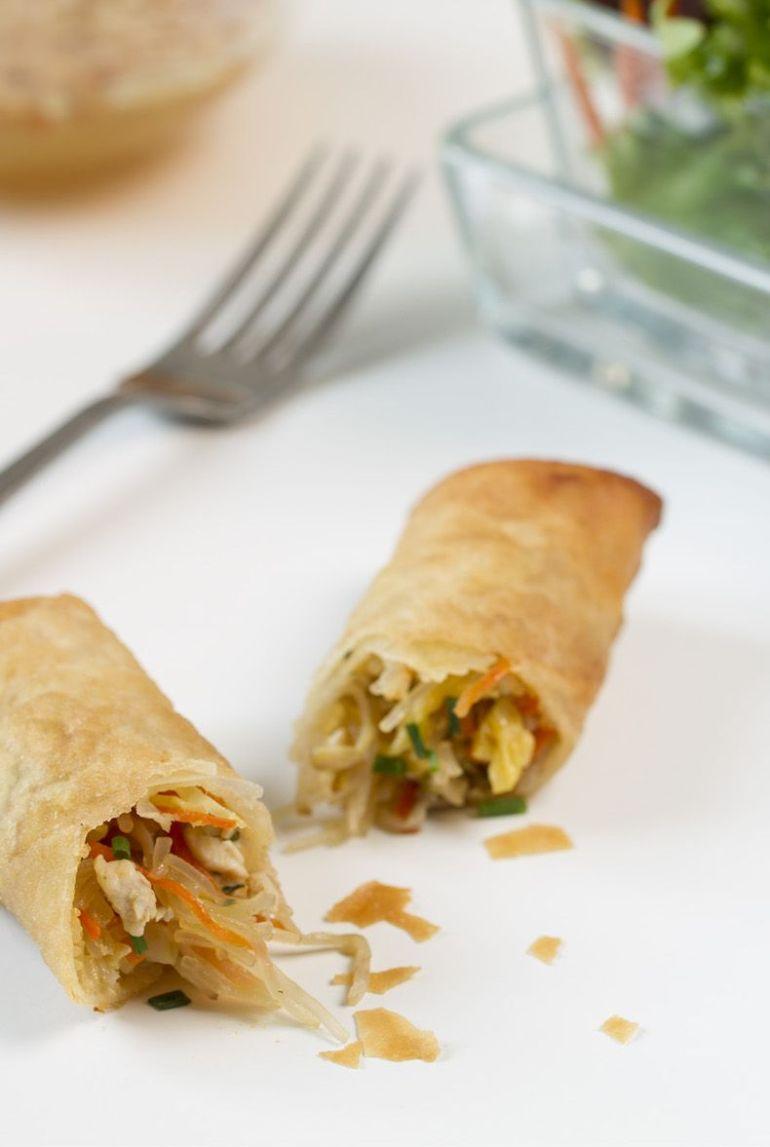 rollitos de primavera, rollitos vieanamita, rollitos, cocina tailandesa, cocina vietnamita