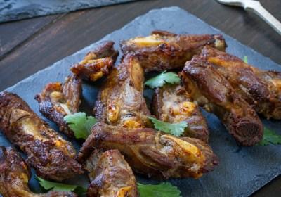 costillas de cerdo fritas, costillas de cerdo, costillas de cerdo thai, cocina tailandesa