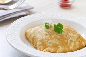 Tortilla Rellena, tortilla, huevo, cocina tailandesa