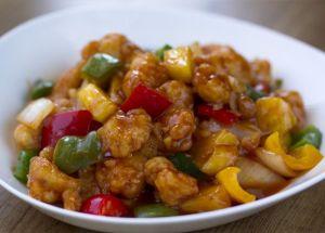 Pollo Agridulce, cocina china, cocina asiática