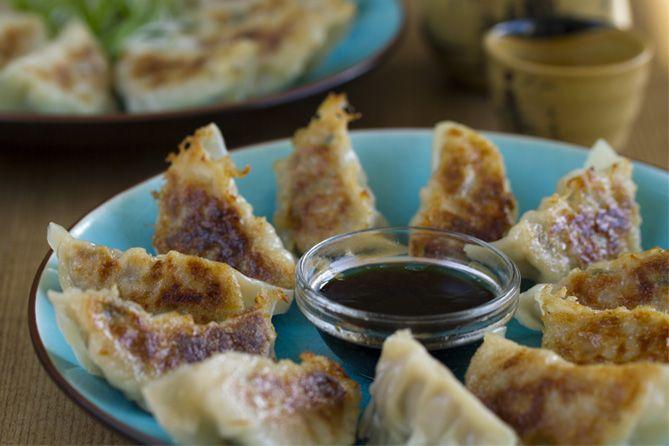 gyozas receta, gyozas japonesas, Gyoza, gyozas, empanadillas japonesas, dumplings, cocina japonesa