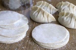 Pasta Gyoza, masa gyoza, masa empanadillas chinas, masa dumplings, masa empanadillas chinas