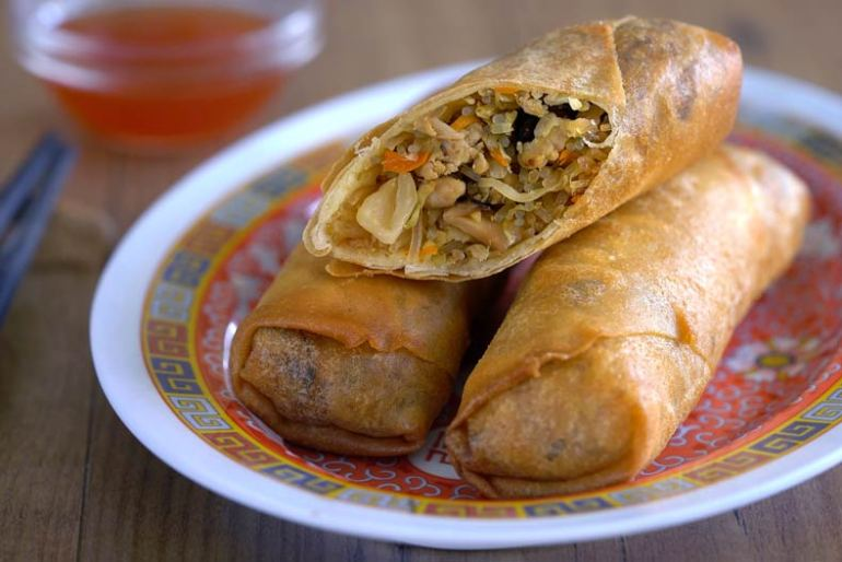 rollitos chinos, rollitos de primavera, rollito de primavera, comida china recetas, receta china, cocina china, rollito chino, rollitos de primavera chinos