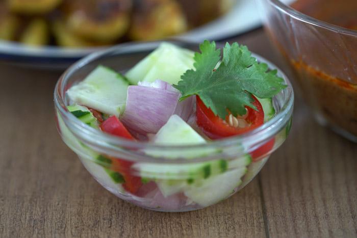 salsa satay, salsa sate, salsa de cacahuetes, pollo satay, satay thai, cocina tailandesa