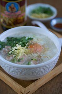 gachas de arroz, arroz congee, arroz congee Thai, arroz congee Chino, sopa de arroz, sopa de arroz blanca, como preparar sopa de arroz, congee, receta de arroz blanco, recetas de arroz
