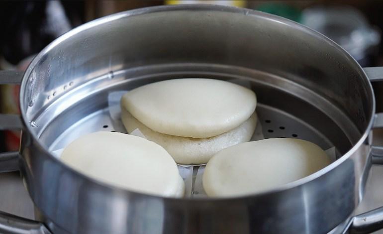 Pan bao, pan chino, pan chino al vapor, pan bao receta, pan chino receta, pan chino casero, pan chino al vapor, pan al vapor