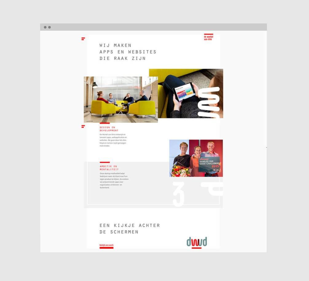 Website De Wortel van Drie