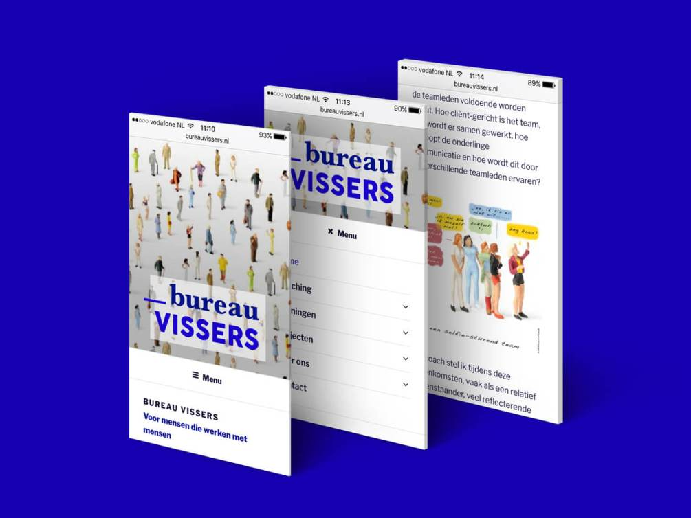 Website Bureau Vissers