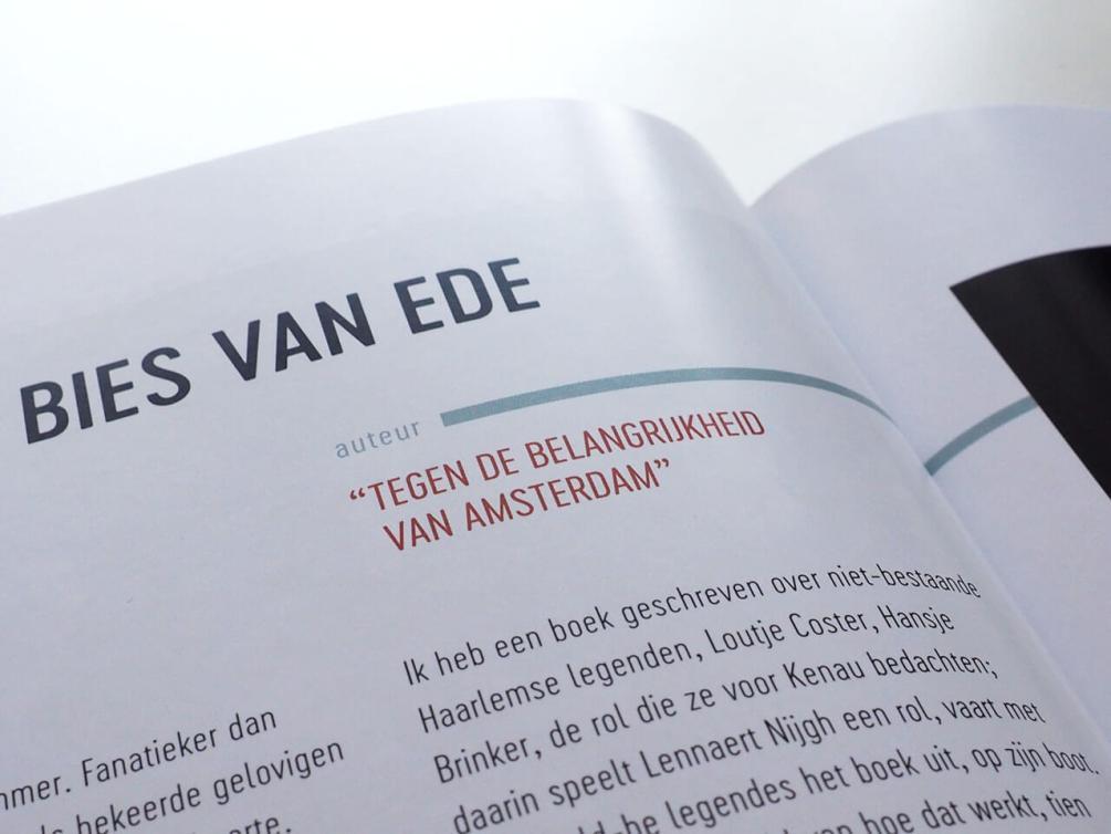 Boekontwerp Haarlem Ongelogen
