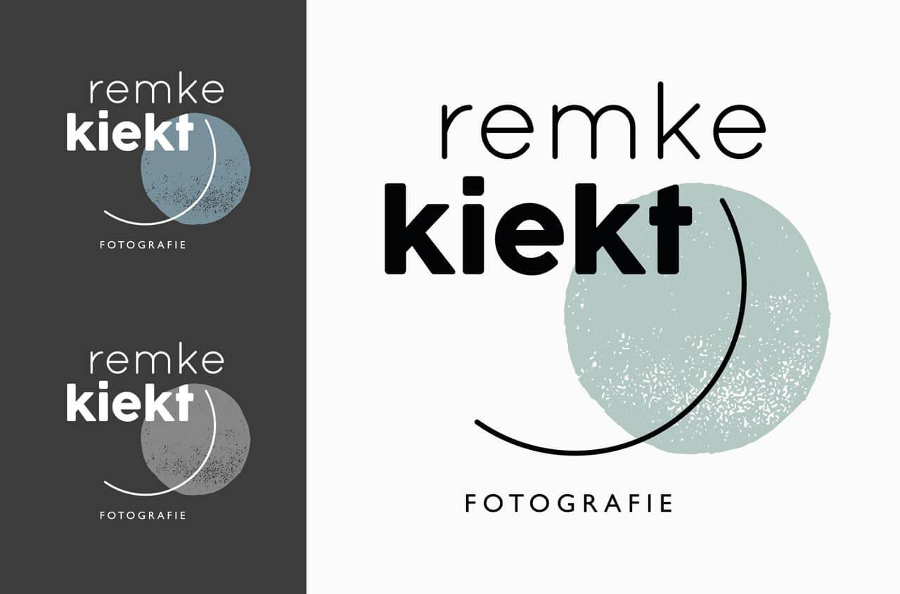 Logo visuele identiteit Remke Kiekt
