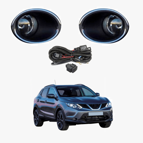 small resolution of fog light kit for nissan qashqai j11 2014 2017 with wiring switch