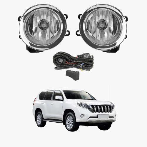 small resolution of fog light kit for toyota landcruiser prado 150 2014 2017 with wiring switch