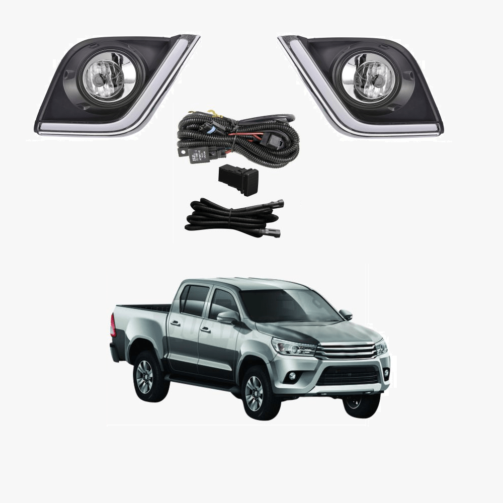 hight resolution of fog light kit for toyota hilux ggn gun tgn 2015 2017 with wiring switch