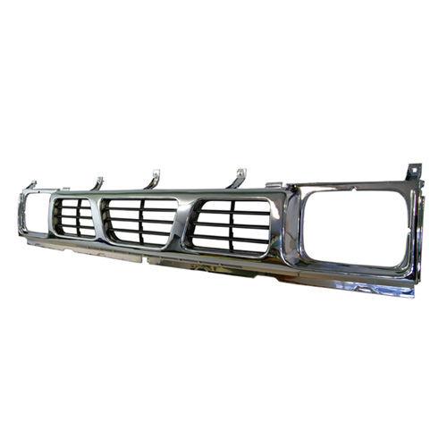 For Nissan Navara D21 06/1992-03/1997 Grille Chrome