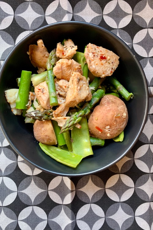 Instant Pot Chicken & Asparagus